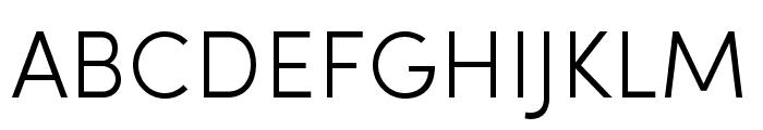 Sofia Pro Condensed Light Font UPPERCASE