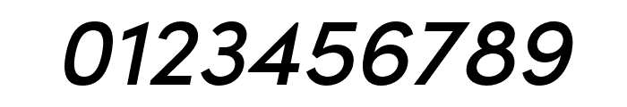 Sofia Pro Condensed Medium Italic Font OTHER CHARS
