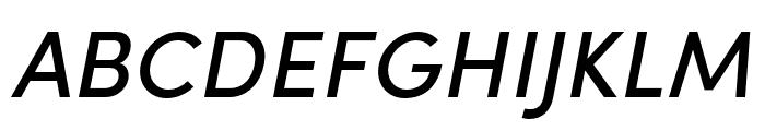 Sofia Pro Condensed Medium Italic Font UPPERCASE
