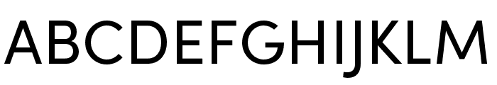 Sofia Pro Condensed Regular Font UPPERCASE