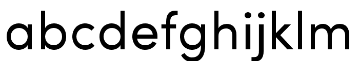 Sofia Pro Condensed Regular Font LOWERCASE