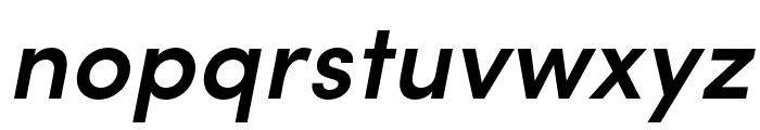 Sofia Pro Condensed Semi Bold Italic Font LOWERCASE