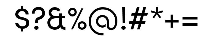 Sofia Pro Regular Font OTHER CHARS