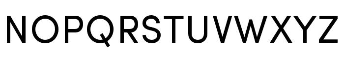 Sofia Pro Regular Font UPPERCASE
