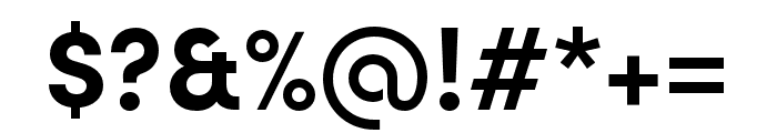 Sofia Pro Soft Bold Font OTHER CHARS