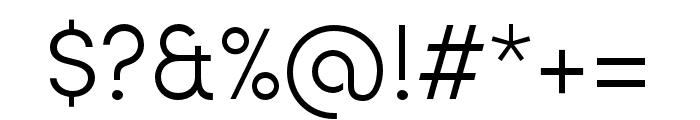 Sofia Pro Soft Light Font OTHER CHARS