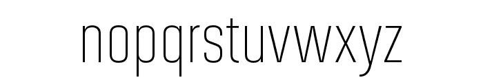 Solano Gothic Pro MVB Light Font LOWERCASE