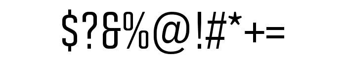 Solano Gothic Pro MVB Medium Font OTHER CHARS