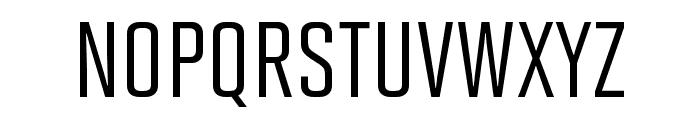 Solano Gothic Pro MVB Medium Font UPPERCASE