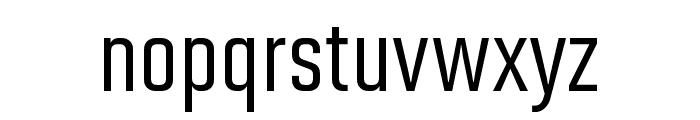 Solano Gothic Pro MVB Medium Font LOWERCASE
