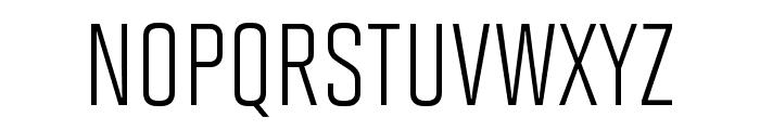 Solano Gothic Pro MVB Regular Font UPPERCASE
