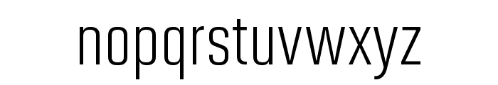 Solano Gothic Pro MVB Regular Font LOWERCASE