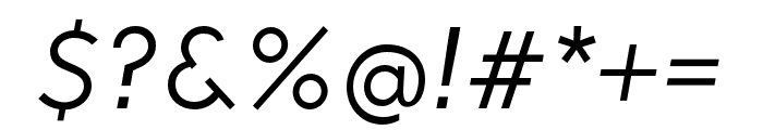 Soleil Bold Italic Font OTHER CHARS