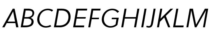 Soleil Bold Italic Font UPPERCASE
