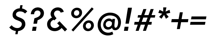 Soleil Bold Font OTHER CHARS