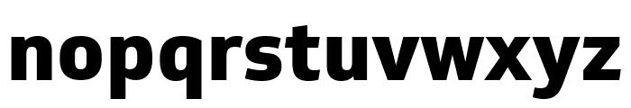 Soleto XBold Font LOWERCASE