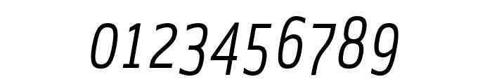 Solex OT Italic Font OTHER CHARS