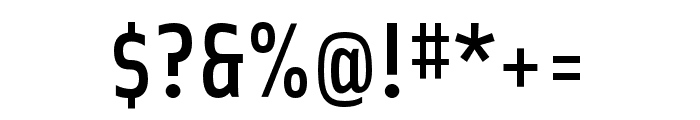 Solex OT Medium Font OTHER CHARS