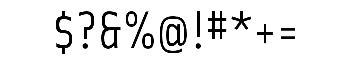 Solex OT Regular Font OTHER CHARS