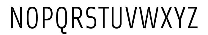 Solex OT Regular Font UPPERCASE