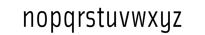 Solex OT Regular Font LOWERCASE