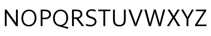 Solitaire MVB Pro Semilight Italic Font UPPERCASE