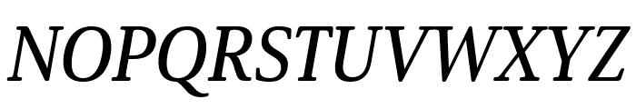 Solitas Serif Cond Demi Font UPPERCASE