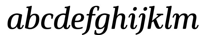 Solitas Serif Cond Demi Font LOWERCASE