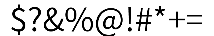 Source Han Sans HC Normal Font OTHER CHARS