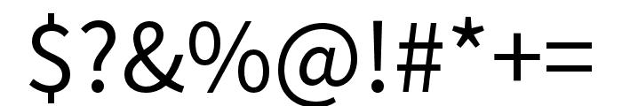 Source Han Sans TC Regular Font OTHER CHARS