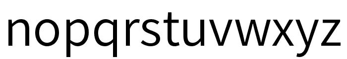Source Han Sans TW Normal Font LOWERCASE