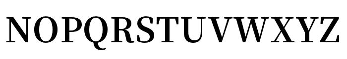Source Han Serif K Bold Font UPPERCASE