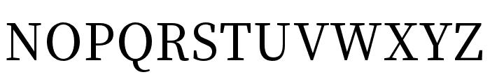 Source Han Serif K Medium Font UPPERCASE
