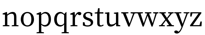 Source Han Serif K Medium Font LOWERCASE