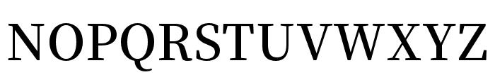 Source Han Serif K SemiBold Font UPPERCASE