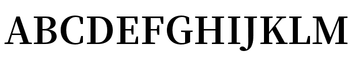 Source Han Serif SC Bold Font UPPERCASE