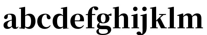Source Han Serif SC Heavy Font LOWERCASE