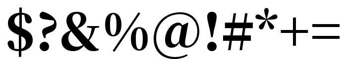 Source Han Serif TC Heavy Font OTHER CHARS
