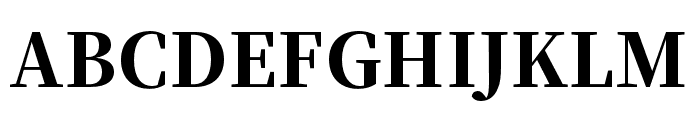 Source Han Serif TC Heavy Font UPPERCASE