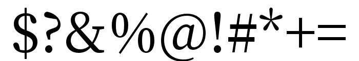 Source Han Serif TC Medium Font OTHER CHARS