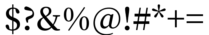 Source Han Serif TC SemiBold Font OTHER CHARS