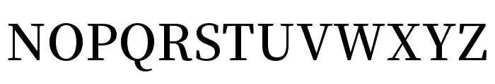 Source Han Serif TC SemiBold Font UPPERCASE