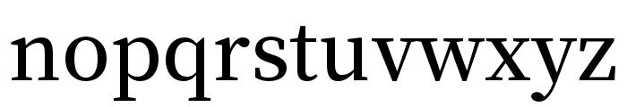 Source Han Serif TC SemiBold Font LOWERCASE