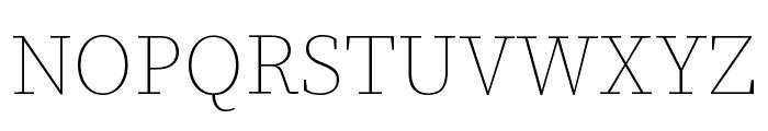 Source Serif Pro Light Italic Font UPPERCASE