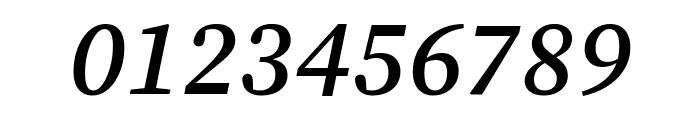 Source Serif Pro Semibold Italic Font OTHER CHARS