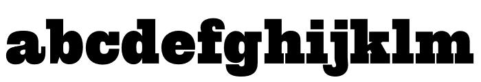 Spade Round Regular Font LOWERCASE
