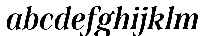 Span Compressed Bold Italic Font LOWERCASE