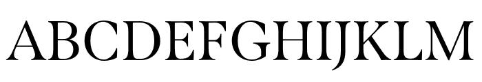 Span Compressed Regular Font UPPERCASE