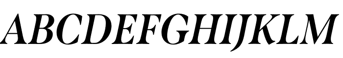Span Condensed Bold Italic Font UPPERCASE