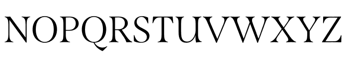 Span Condensed Light Font UPPERCASE